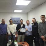 AS9100C presentation of certificate