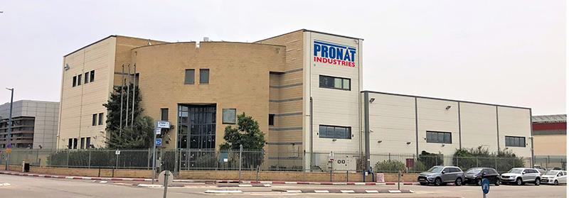 pronat industries new building